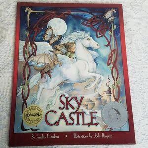 Sky Castle Sandra Hanken Jody Bergsma Signed Book